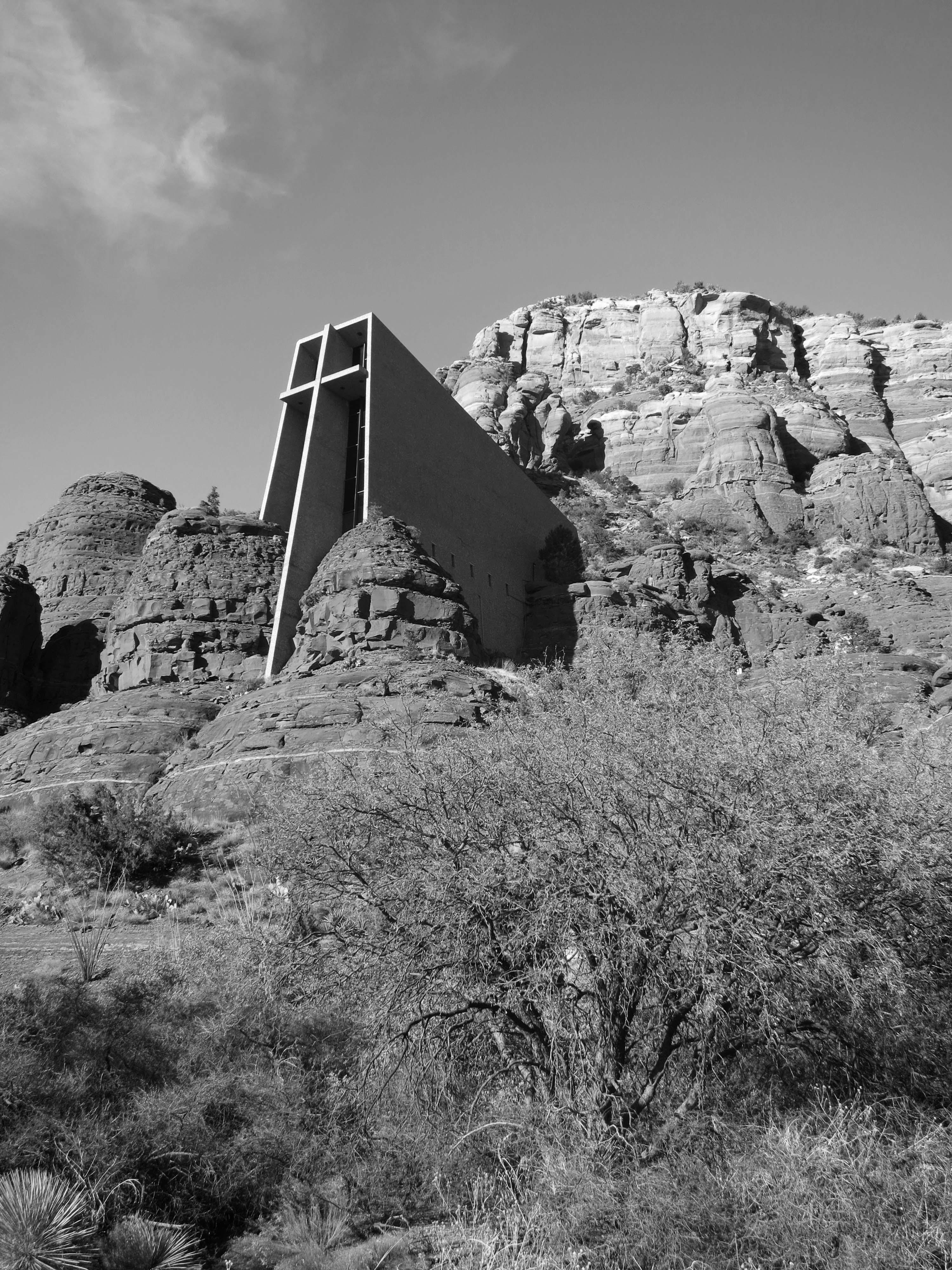 Church Of Holy Cross In Sedona Arizona. Photo By Curtis Mekemson.