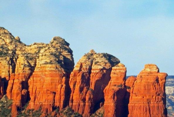 The Coffee Pot Rocks in Sedona, Arizona. Photo by Curtis Mekemson.