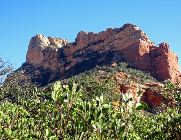 Rock formation in Sedona Arizona.