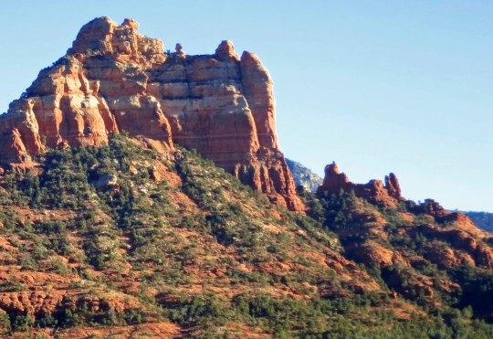 Snoopy rock formation in Sedona, Arizona.