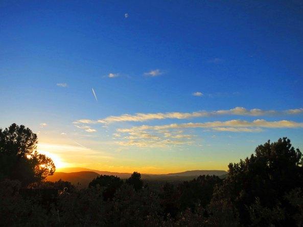 Sunset view from airport overlook in Sedona, Arizona. Photo by Curtis Mekemson.