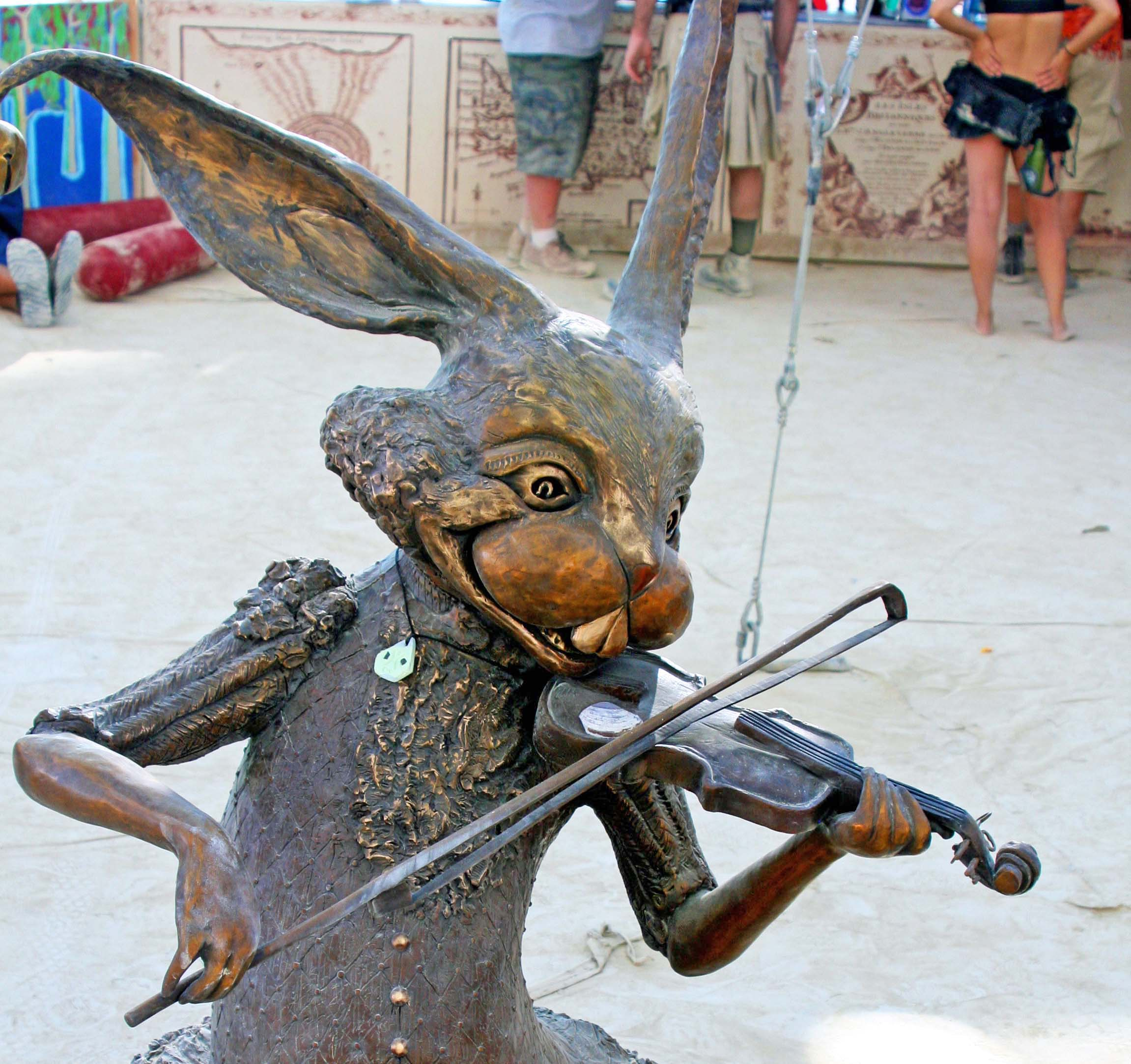 Number 10 was a toss up. I couldn't choose between a fiddling rabbit…