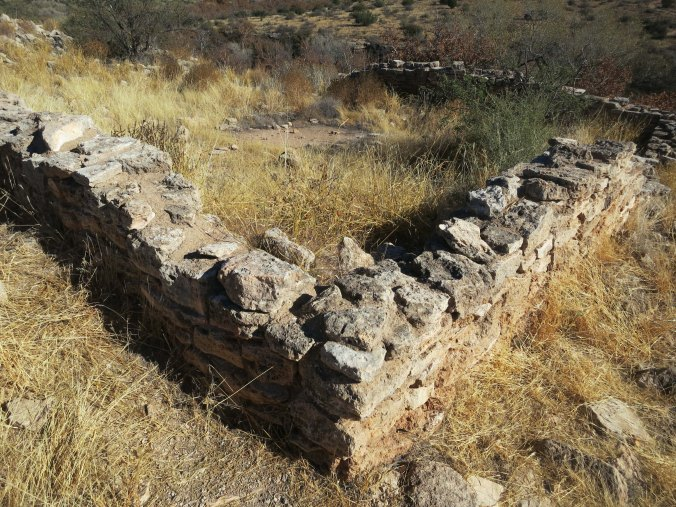 More ruins are found above the well. Native Americans farmed some sixty acres in the valley below with water from the spring.