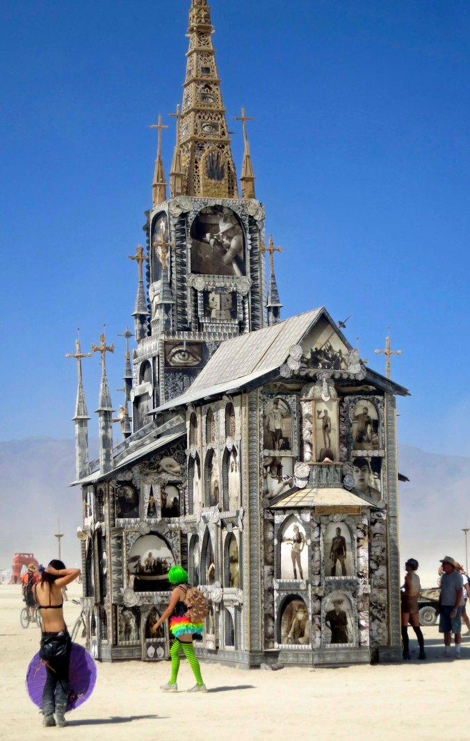 This cathedral was also built out on the Playa.