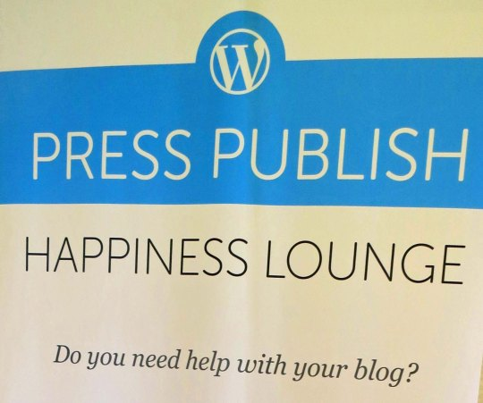 Happiness lounge at Press Publish Conference.