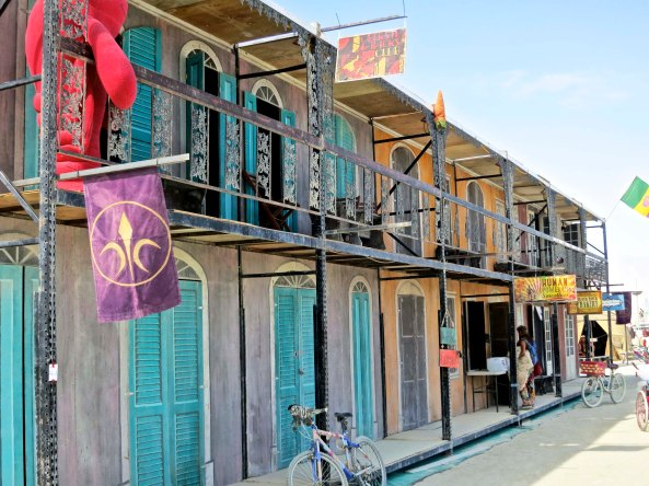 The NOLA camp always brings a bit of New Orleans to Black Rock City.