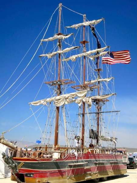 The sailing ship I mentioned above.
