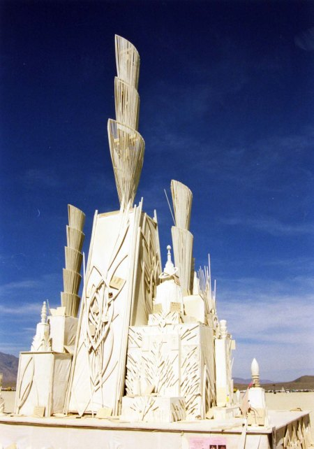 One of the first Temples I saw at Burning Man.