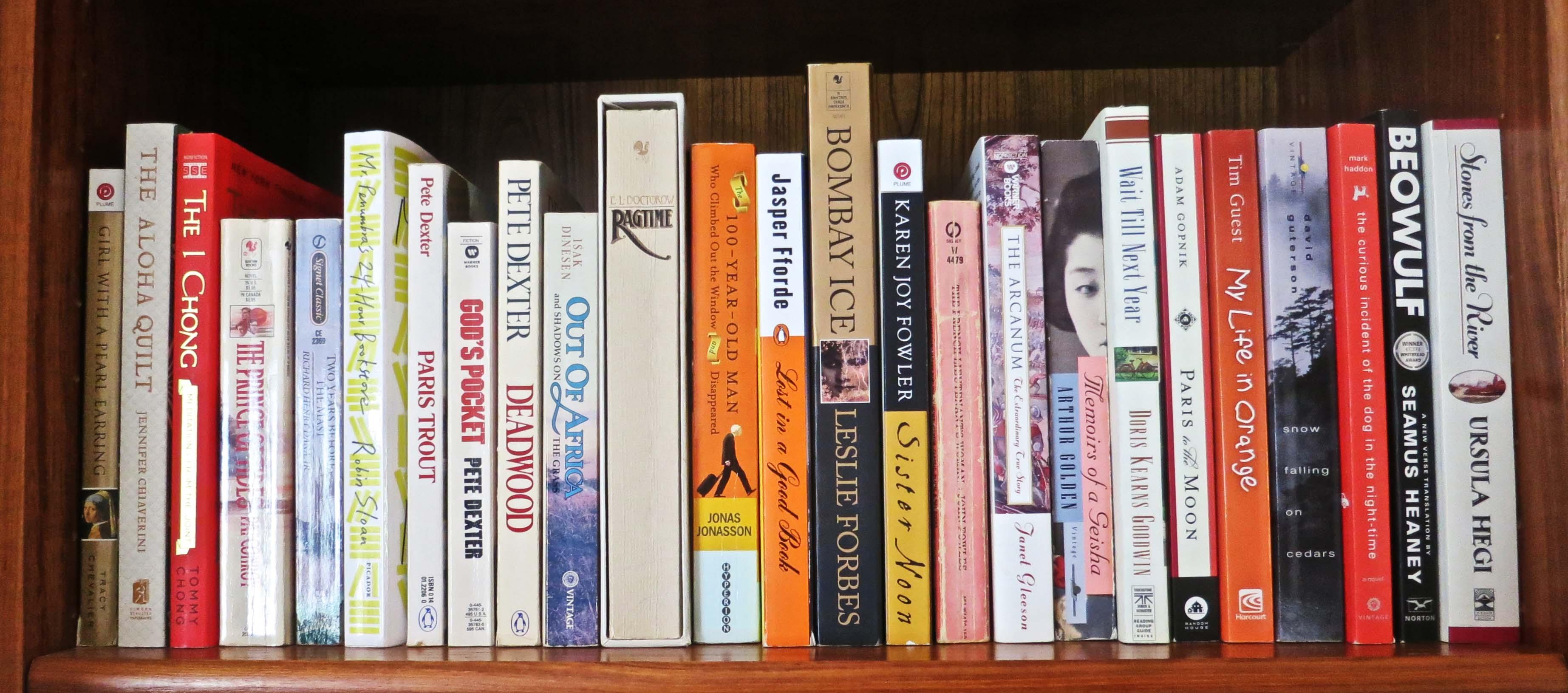 A final shelf.