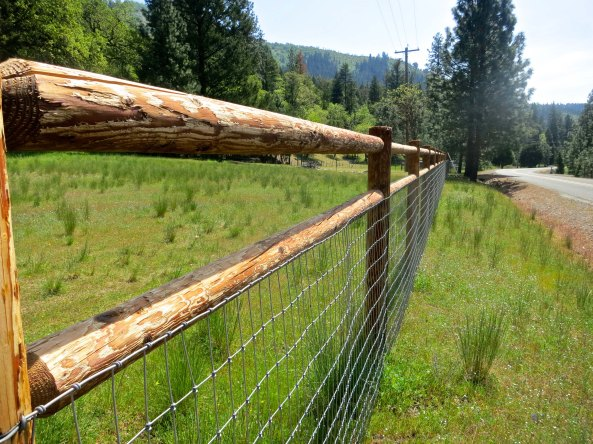 Our fence is designed to fit into the local environment.