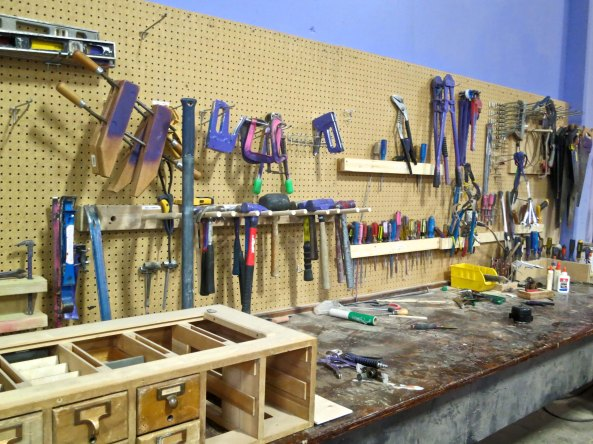 A wide range of hand tools are available.