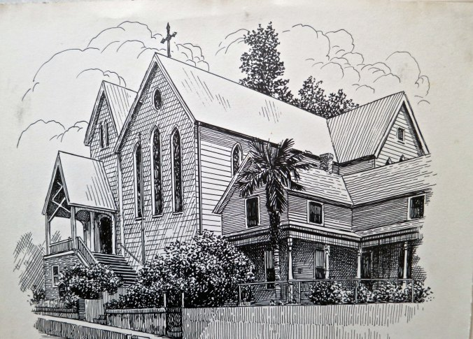The Episcopal Church in Placerville that played a significant role in my life for 16 years.