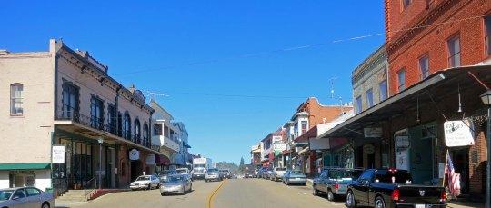 A look up main street, jackson.