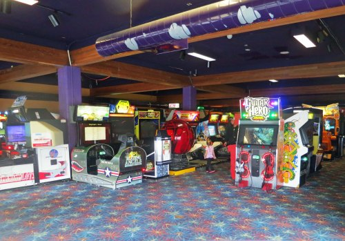 Another symbol of historic coastal resort towns was the Penny Arcade. Although the games and prices have changed, the purpose remains the same: capturing youth. It worked for me as a kid.