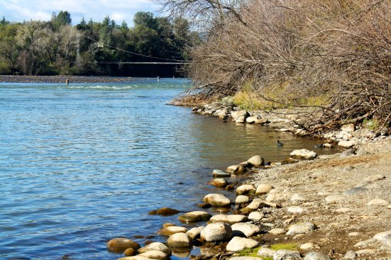 The Sacramento River is the main source of water for the Northern Sacramento Valley, one of the richest farmlands in the world. The river eventually flows into San Francisco Bay and out into the Pacific Ocean.