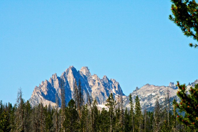 Peggy and I had been up in central Idaho admiring the Sawtooth Mountains and were on our way to Nevada when we found Breneau Dunes State Park.