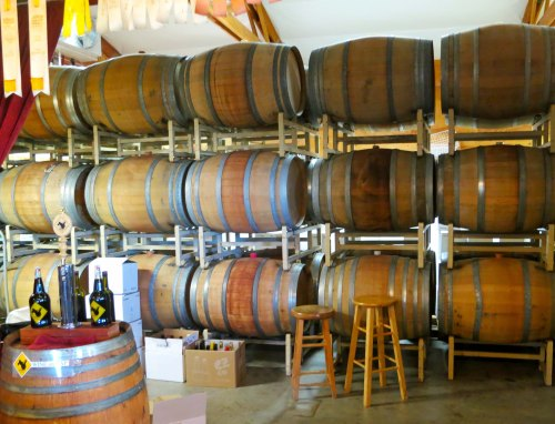 We visited several wineries looking for wine to use at my book-signing in Sacramento.