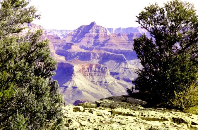 A final view of the Canyon with its multiple layers that represent deposited from oceans, deserts, rivers and lakes.