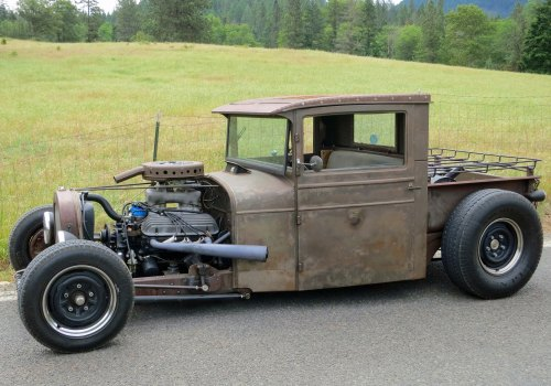 Here's a side view of the REO Hotrod which would have been produced in Lansing Michigan.