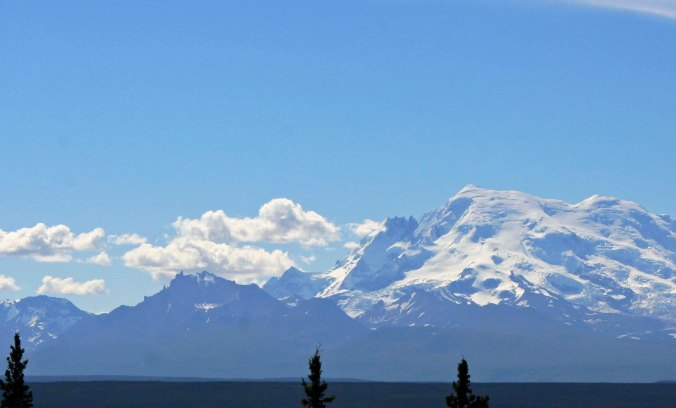 Another view of the Wrangell-St.Elias Mountains that I would have passed.