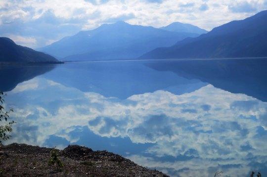 Reflecting lakes...