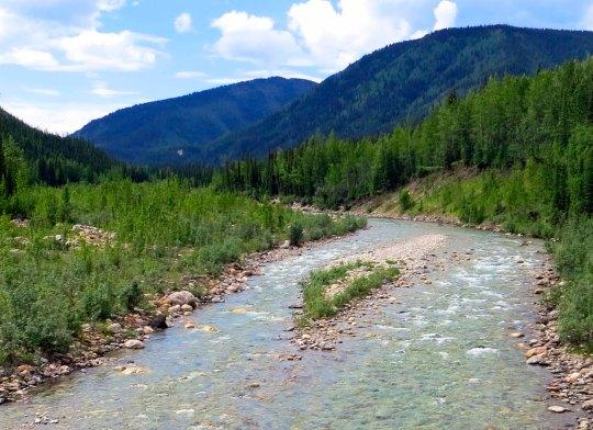 Wild rivers...