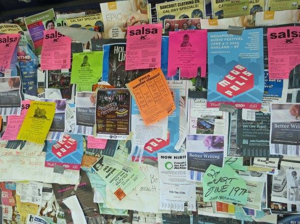 Berkeley sign board