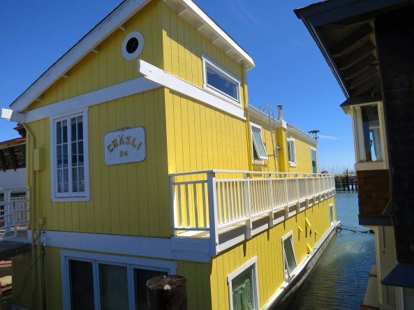 Don McCoy would create one of the first modern houseboat communities in Sausalito California in the years before he created the Chosen Family commune at Olompali. A large, thriving community of houseboats still exists in Sausalito.