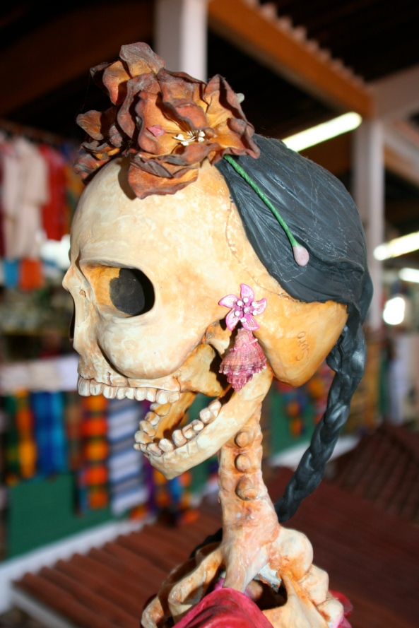 We found this realistic Catrina at the same location in the Municipal Market on a previous visit to Puerto Vallarta.