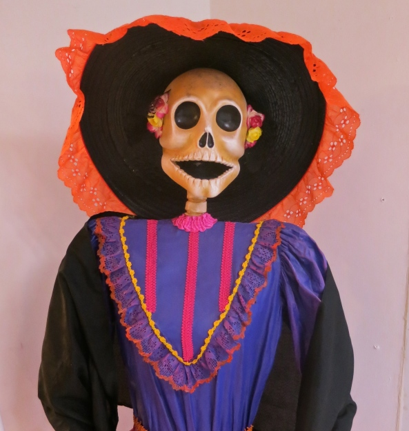 The Puerto Vallarta airport featured a number of Catrina's, including this one.