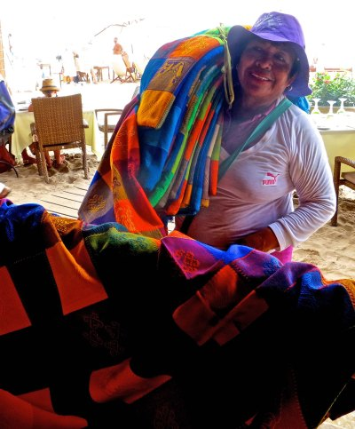 2. Blanket vendor in Puerto Vallarta