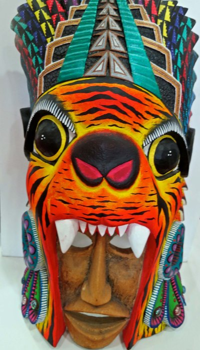 This Oaxaca mask.