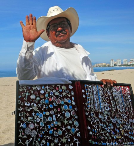 5. Felix the beach vendor in Puerto Vallarta