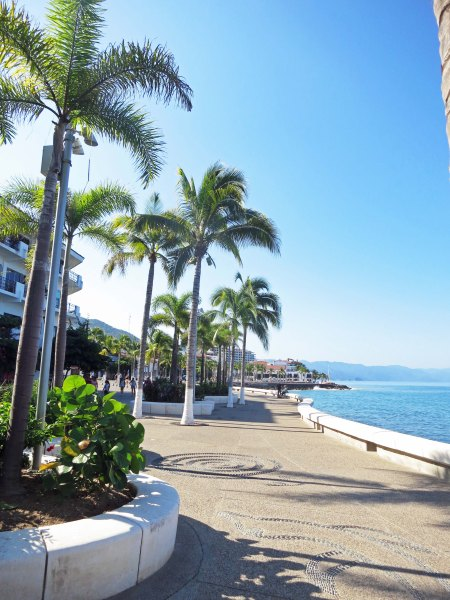 Even without the art and the bay, the Malecon is a very attractive walkway.