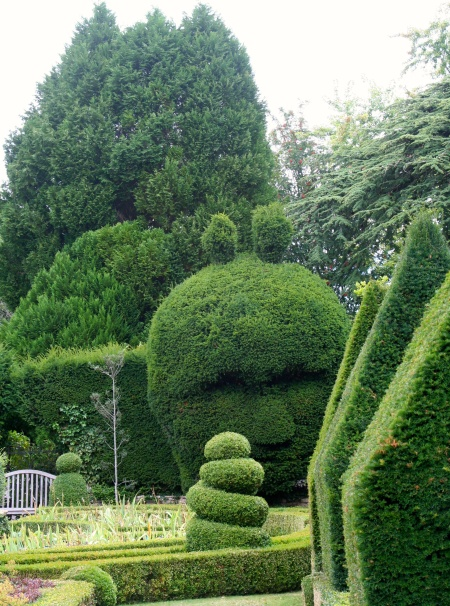 I found the Abbey Gardens eclectic and amusing.