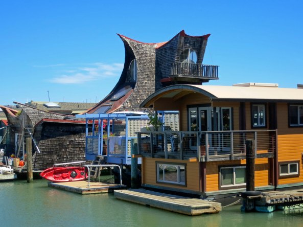 How you build your houseboat is only limited by your imagination. And I might add, the size of your pocketbook.