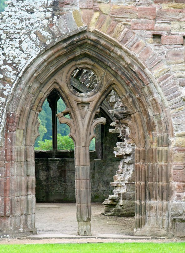 Tintern Abbey in England