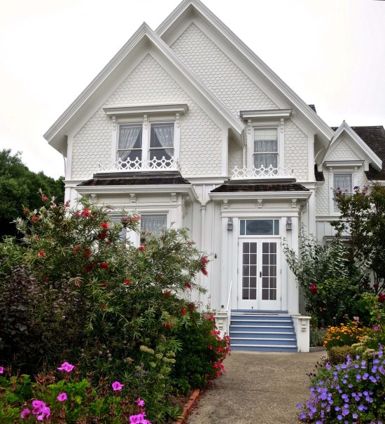 Jessica Fletcher's home in Mendocino