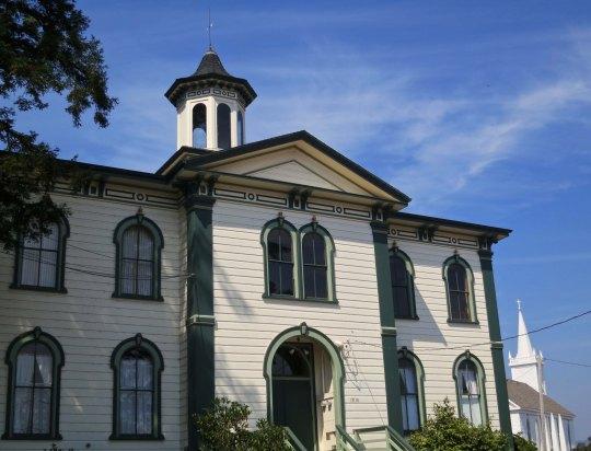 10 Potter school and St. Teresa church in Bodega California