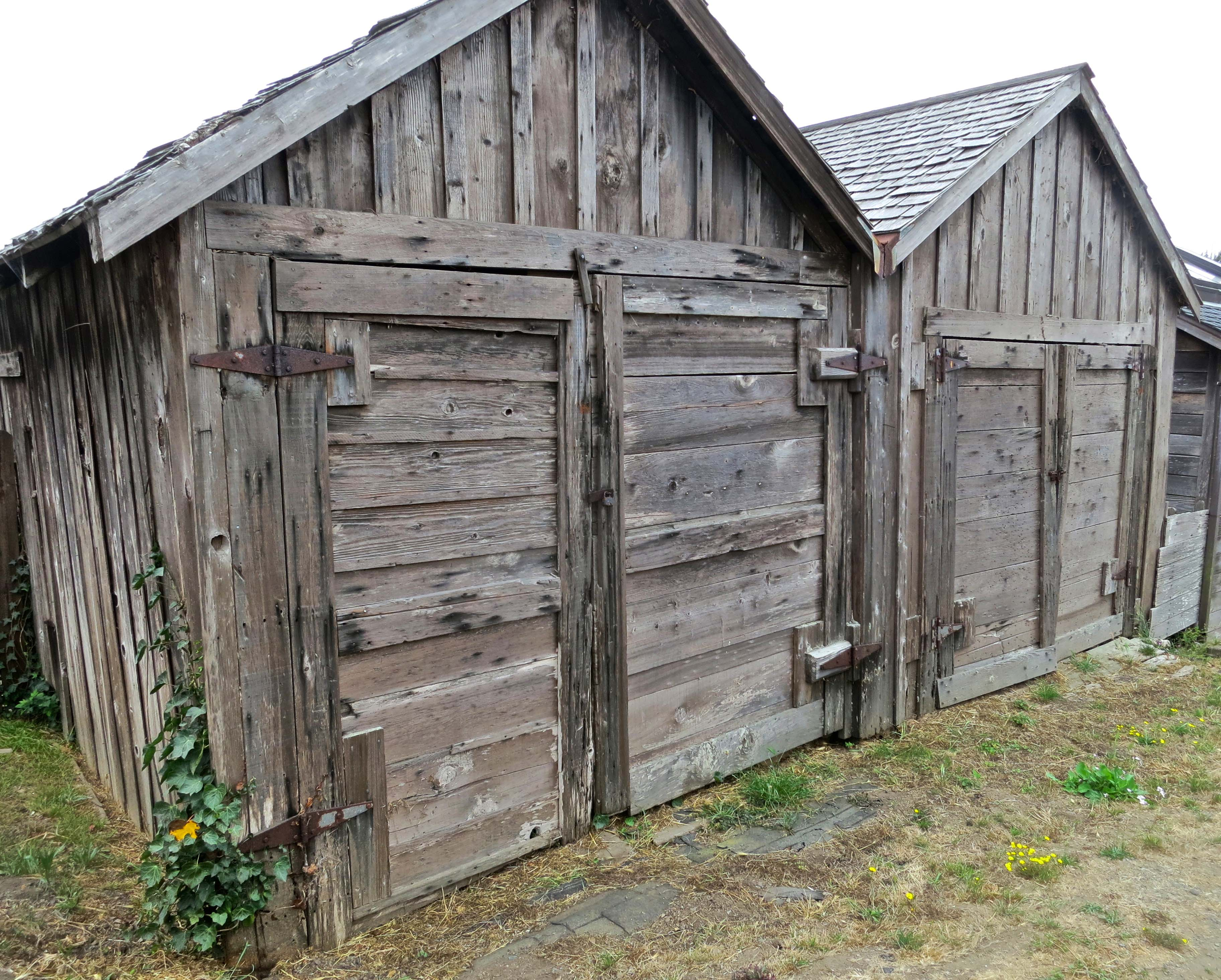 old two car garage in mendocino wandering through time and place published december 18 2015 at 3648 2928 in