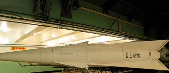 4. One of the Nike missiles at SF-88