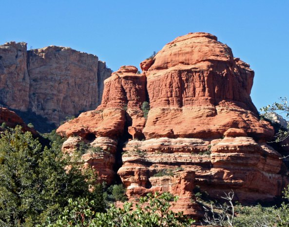 We travelled from the Bell Tower in Sedona...