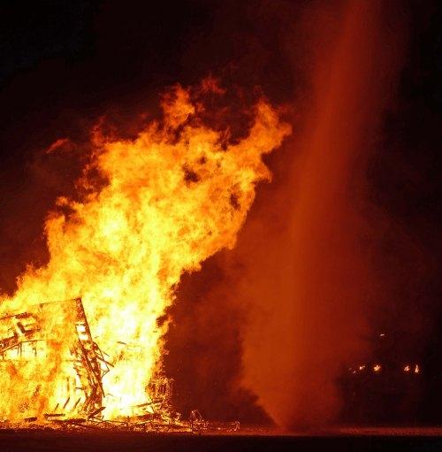 1 Burning the Totem of Confession at Burning Man 2015 c DG