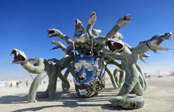 1 Medusa at Burning Man 2015