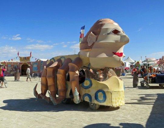 Arachne Mutant Vehicle at Burning Man 2015