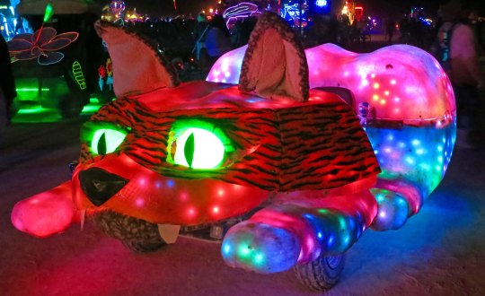 A night kitty Mutant Vehicle.