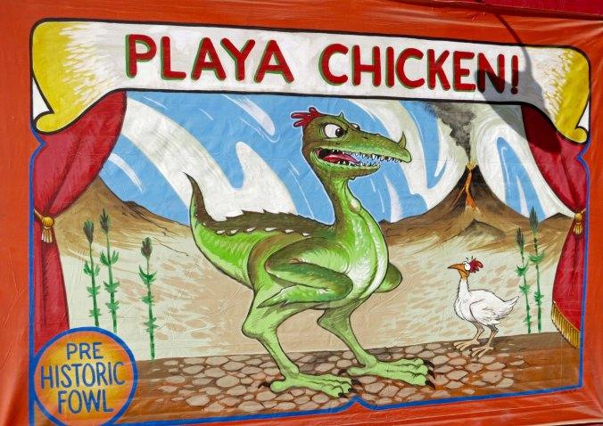 A Playa Chicken.
