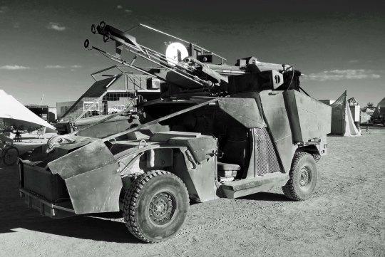 Mad Max Mutant Vehicle at Burning Man