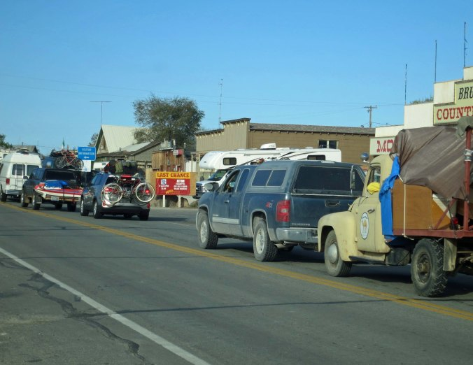 For one week out of the year, however, its streets are packed with Burners and thousands of vehicles pass through the town.