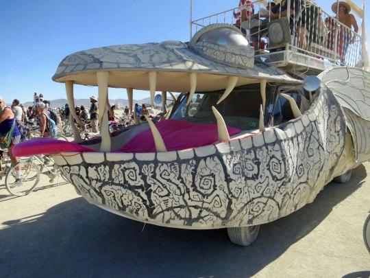 17 Big Bug Mutant Vehicle at Burning Man 2015